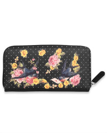 Liquorbrand Black Sparrow Wallet Purse - side