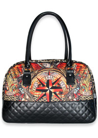 Liquorbrand The Course Tattoo Overnight Bag - side