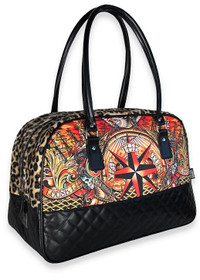 Liquorbrand The Course Tattoo Overnight Bag