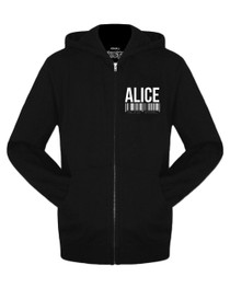 Twisted Alice Mug Shot Hoodie Jacket