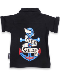 Little Sailor Baby Rockabilly Button Up Shirt