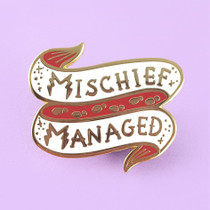 Mischief Managed Enamel Lapel Pin Jubly Umph