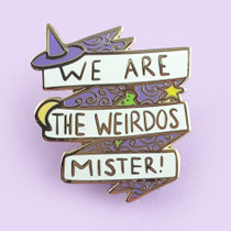 Jubly Umph We Are the Weirdos Mister Lapel Pin