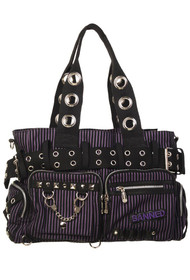 Banned Apparel Handcuff Bag - Purple