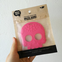 Helles Teeth Sugar Skull Baby Teether - Pink