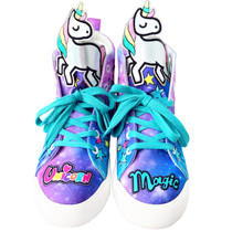 Unicorn Hi-Top Shoes by Madmia + FREE GIFT
