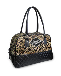 Liquorbrand Leopard Print Overnight Bag