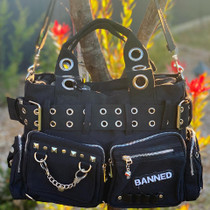 Banned Apparel Handcuff Bag - Black