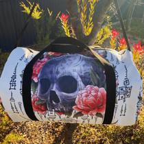 Liquorbrand Sak Yant Skull Duffle Bag