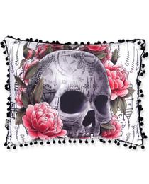 Liquorbrand Sak Yant Skull Accent Pillow