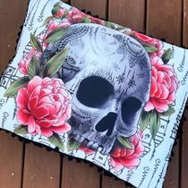 Liquorbrand Sak Yant Skull Pillow