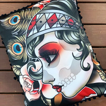 Liquorbrand Gypsy Roses Accent Pillow