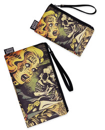 Liquorbrand Horror 2 Piece Wallet and Coin Pouches
