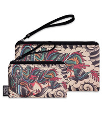 Liquorbrand Dragon Lady Wristlet Pouches - Set of 2