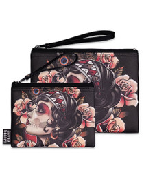 Liquorbrand Gypsy Rose Wristlet Pouches - Set of 2