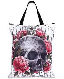 Liquorbrand  Sak Yant Skull Tote Bag