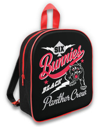 Six Bunnies Black Panther Crew Kids Backpack