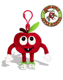 Whiffer Sniffers Adam Apple Scented Backpack Clip
