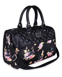 Liquorbrand Sparrows and Roses Retro Round Handbag