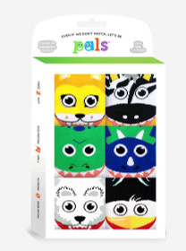 Pals Socks Mighty Mates Gift Pack