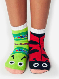 Pals Socks - Funky Friends | 3 Mismatched Socks Gift Set |  4-8 Yrs