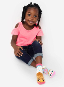 Pals Socks - Donut and Ice Cream Mismatched Socks | Toddler - 8 Yr