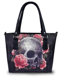 Liquorbrand Sak Yant Skull Highend Handbag - front