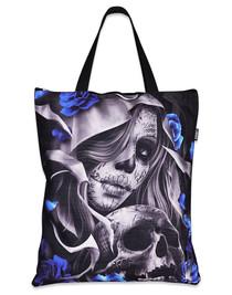 Liquorbrand Los Muertos Tote Skull Bag