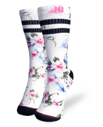 Liquorbrand Clothing Luau Skater Calf Adult Socks