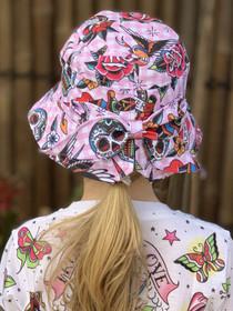 Six Bunnies Tattoo Shoppe Bucket Hat