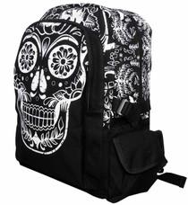 Banned Apparel Sugar Skull Collins Backpack - front