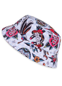 Six Bunnies Tattoo Shoppe Kids Bucket Hat