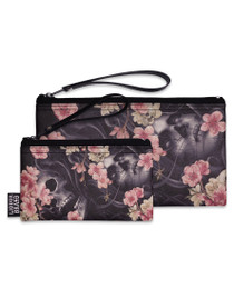 Liquorbrand Sakura Wristlet Pouches - Set of 2