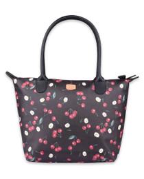 Liquorbrand Daisy Cherry Tote Handbag