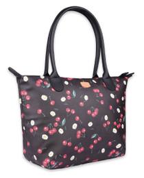 Liquorbrand Daisy Cherry Tote Handbag - side