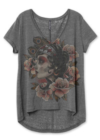 Liquorbrand Gypsy Roses Relaxed Tee Shirt