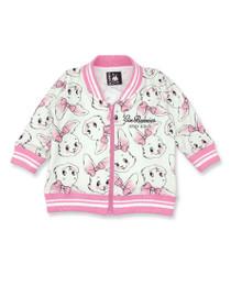 Six Bunnies Bunny Baby Varsity Bomber Jacket