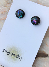 Unicorn Eclipse Resin Glitter Earrings