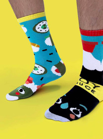 Pals Socks Sushi and Soy Sauce Socks - side