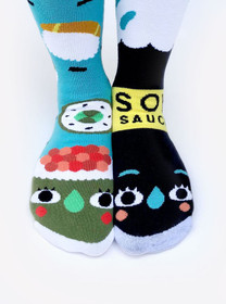Pals Socks Sushi and Soy Sauce Socks
