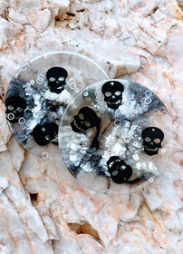 Skulls - Drink or Candle Coaster x 1