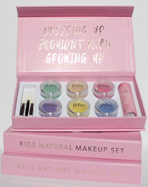 Oh Flossy Kids Natural Complete Makeup Gift Box Set - display