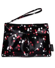 Liquorbrand Micro Cherries Wristlet Pouch Wallet Bag