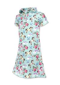 Six Bunnies Unicorn Wonderland Shirt Dress