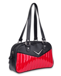 Liquorbrand Chevron Red Bowler Bag