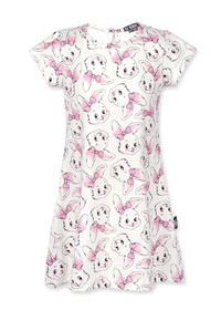 Six Bunnies Girls Bunny Easter Party Dress