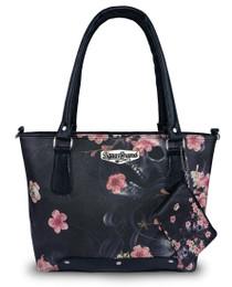 Liquorbrand Sakura Gypsy Skull Highend Handbag - front