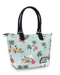 Six Bunnies Tropical Paradise Nappy Bag or Tote Handbag