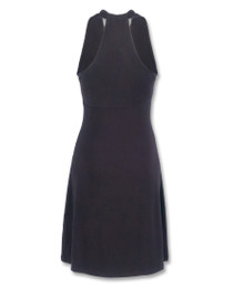 Liquorbrand Black Monroe Halter Dress - back