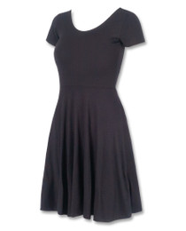Liquorbrand Black Rockabilly Skater Dress
